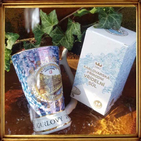 Dein Heilwasser für zu Hause - Karlsbader Salz, ein Juwel aus der Karlsbader Quelle - weltweit einmalig!