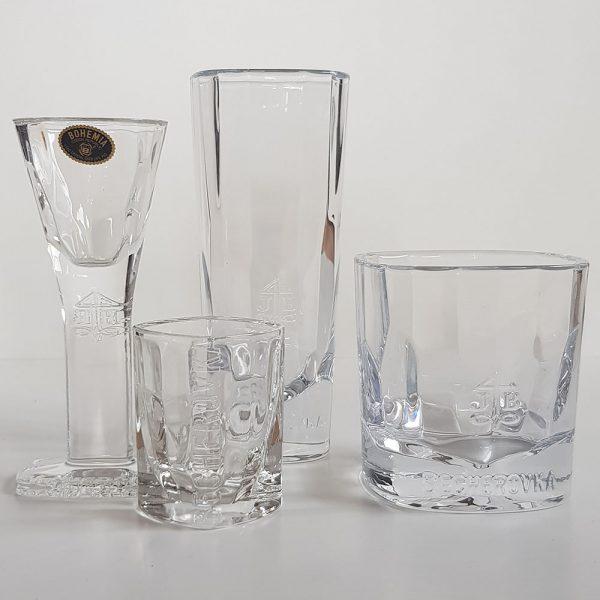 Original böhmisches Glas